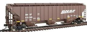 Intermountain PS2CD 4750 Cubic Foot 3-Bay Covered Hopper BNSF HO Scale Model Train Freight Car #45368