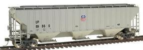 Intermountain PS2CD 4750 Cubic Foot 3-Bay Covered Hopper UP HO Scale Model Train Freight Car #45371
