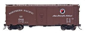 Intermountain 1937 AAR 40 Boxcar Northern Pacific HO Scale Model Train Freight Car #45733