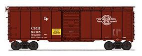Intermountain Post-War 10 Inside-Height 40 Boxcar Clinchfield HO Scale Model Train Freight Car #45782