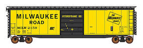 Intermountain PS-1 Single Door Boxcar Milwaukee Road HO Scale Model Train Freight Car #45955