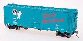 Intermountain 40 12-Panel Boxcar Great Northern HO Scale Model Train Freight Car #46015