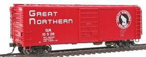Intermountain Plywood Panel 40 Boxcar Great Northern HO Scale Model Train Freight Car #46053