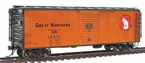 Intermountain Plywood Panel 40 Boxcar Great Northern HO Scale Model Train Freight Car #46055
