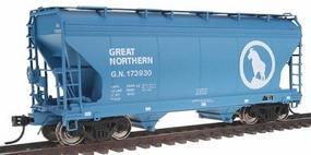 Intermountain ACF 2-Bay Center-Flow Covered Hopper Great Northern HO Scale Model Train Freight Car #46531