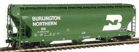 Intermountain 4650 Cubic Foot 3-Bay Hopper Burlington Northern HO Scale Model Train Freight Car #47001