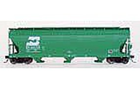 Intermountain ACF 4650 Cubic Foot 3-Bay Covered Hopper BN HO Scale Model Train Freight Car #47035