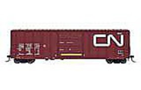 Intermountain 5277 Cu.Ft. Exterior-Post Boxcar Canadian National HO Scale Model Train Freight Car #47503