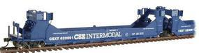 Intermountain Gunderson Twin Stack Five Unit Set CSX Transportation HO Scale Model Train Freight Car #47609