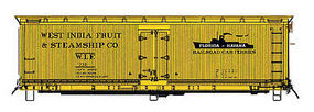 Intermountain FGE Wood Reefer West India Fruit HO Scale Model Train Freight Car #47740