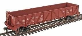 Intermountain Santa Fe Caswell Gondola Santa Fe Class Ga-X HO Scale Model Train Freight Car #47751