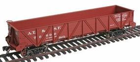 Intermountain Santa Fe Caswell Gondola Santa Fe Class Ga-4 HO Scale Model Train Freight Car #47753