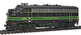 Intermountain EMD F7A - Standard DC - Reading HO Scale Model Train Diesel Locomotive #49065