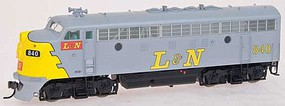 Intermountain F7 A-Unit wo/S nonPwr L&N - HO-Scale