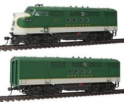 Intermountain EMD FTA-B Set DCC - Southern Railway HO Scale Model Train Diesel Locomotive #49216