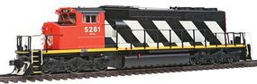 Intermountain EMD/GMDD SD40-2W Standard DC Canadian National HO Scale Model Train Diesel Locomotive #49306