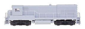 Intermountain GE U18B w/Blomberg Trucks DC - Kit Undecorated HO Scale Model Train Diesel Locomotive #49450