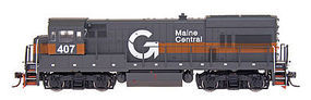 Intermountain GE U18B - Standard DC - Maine Central HO Scale Model Train Diesel Locomotive #49452