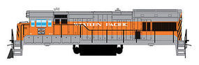 Intermountain U18B DC Western Pacific HO Scale Model Train Diesel Locomotive #49491