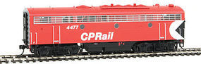Intermountain FP9B without Sound Canadian Pacific Rail HO Scale Model Train Diesel Locomotive #49589
