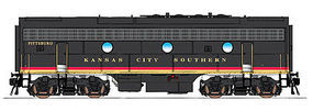 Intermountain F9B DCC Kansas City Southern black HO Scale Model Train Diesel Locomotive #49599