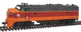 Intermountain EMD FP7 Phase I - Standard DC - Milwaukee Road HO Scale Model Train Diesel Locomotive #49950