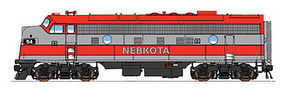 Intermountain FP9 DCC Nebkota HO Scale Model Train Diesel Locomotive #49975