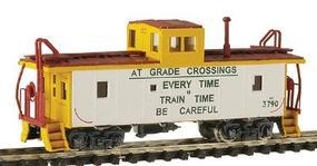 Intermountain CA-3/4 Caboose Union Pacific White Sides (Early-Safety) N Scale Model Train Freight Car #6068