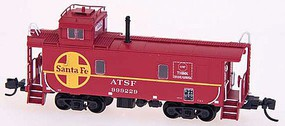 Intermountain CE-2 Waycar Caboose ATSF - N-Scale