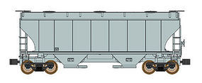 Intermountain Covered Hoppper Trinity #3281 Undecorated Kit N Scale Model Train Freight Car #619000