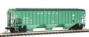 Intermountain PS2CD 4750 Cubic Foot 3-Bay Covered Hopper PC N Scale Model Train Freight Car #65321