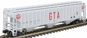 Intermountain PS2CD 4750 Cubic Foot 3-Bay Covered Hopper CPAA N Scale Model Train Freight Car #65388