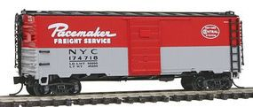 Intermountain Post-War 10 Inside-Height 40 Boxcar New York Central N Scale Model Train Freight Car #65774