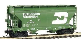 Intermountain ACF 2-Bay Center-Flow Covered Hopper BN N Scale Model Train Freight Car #66526