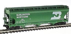 Intermountain ACF 4650 Cubic Foot 3-Bay Covered Hopper BN N Scale Model Train Freight Car #67001
