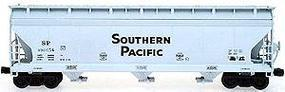 Intermountain ACF 4650 Cubic Foot Center Flow 3-Bay Hopper - Assembled Southern Pacific (gray w/black lettering) - N-Scale