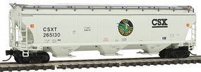Intermountain Trinity 5161 Cubic Foot Covered Hopper CSX N Scale Model Train Freight Car #67202