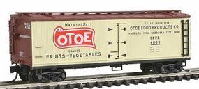 Intermountain Fruit Growers Express Wood Refrigerator Car N Scale Model Train Freight Car #67723
