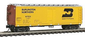 Intermountain Fruit Growers Express Wood Refrigerator Car BN N Scale Model Train Freight Car 67727