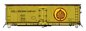 Intermountain Wood Reefer Odel Brewing Company N Scale Model Train Freight Car #67743