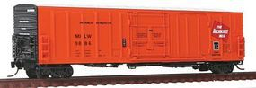 Intermountain R-70-20 Mechanical Reefer Milwaukee Road N Scale Model Train Freight Car #68815