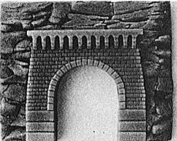 ISLE Tunnel portal brick - HO-Scale