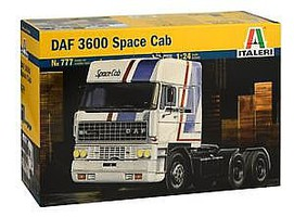 Italeri DAF 3600 Space Cab Truck Plastic Model Truck Kit 1/24 Scale #0777s