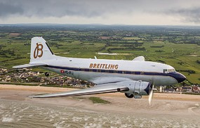 Italeri Dakota DC-3 Breitling Plastic Model Airplane Kit 1/72 Scale #1393s