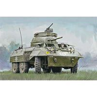 Italeri M8/M20 Tank Plastic Model Military Vehicle Kit 1/56 Scale #15759