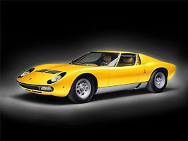 Italeri Lamborghini Miura Plastic Model Car Kit 1/24 Scale #3686s