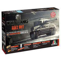 Italeri World of Tanks Pz.Kpfw.VI Tiger I Plastic Model Military Vehicle 1/35 Scale #37502