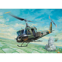 Italeri UH1B Huey Plastic Model Helicopter Kit 1/72 Scale #550040