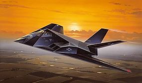 Italeri F117 Stealth Aircraft Plastic Model Airplane Kit 1/72 Scale #550189