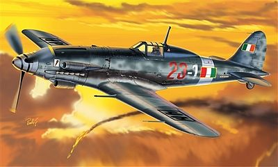 Italeri MC205 Veltro Fighter -- Plastic Model Airplane Kit -- 1/72 Scale -- #551227